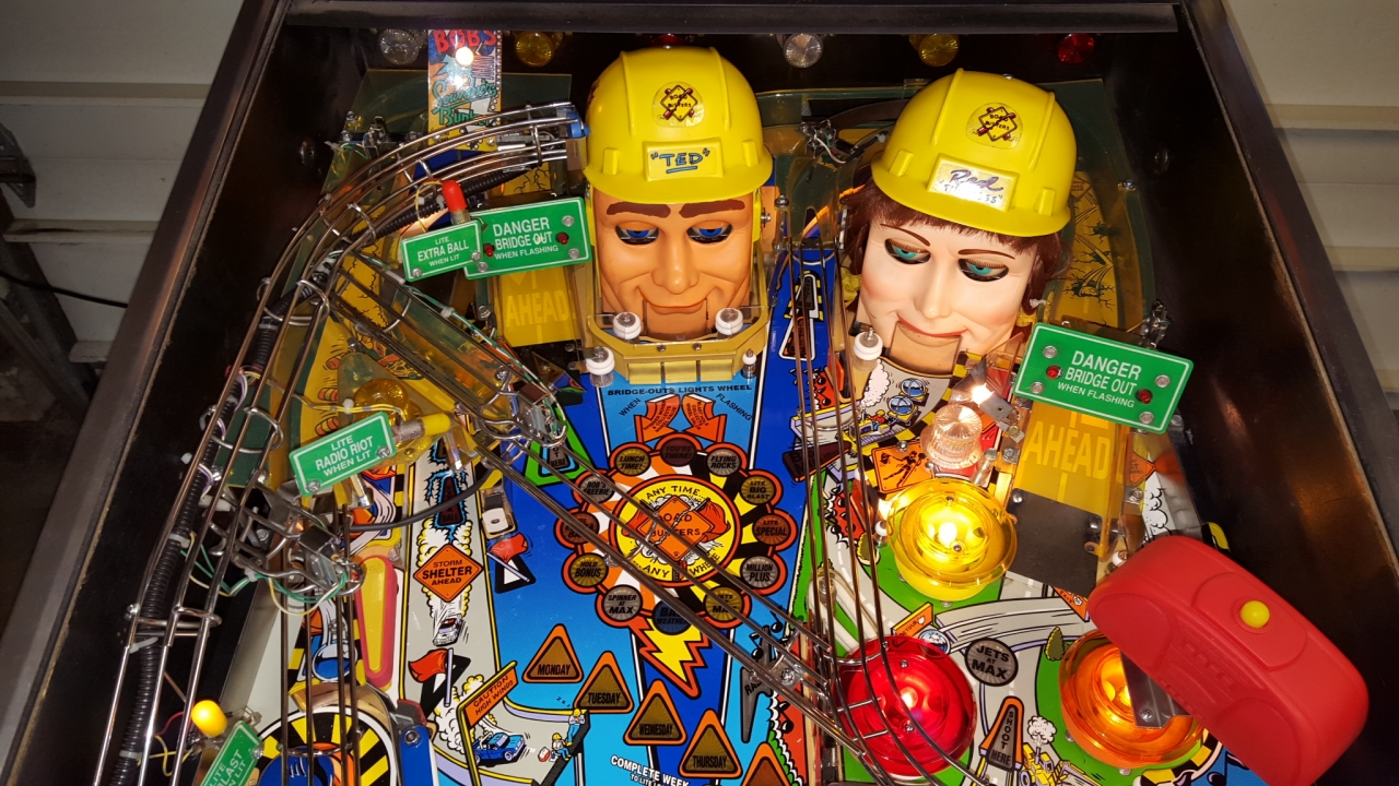 For Sale Williams Red And Ted S Roadshow Maine Pinball