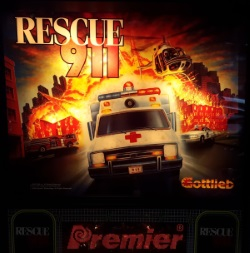 For Sale Gottlieb Rescue 911